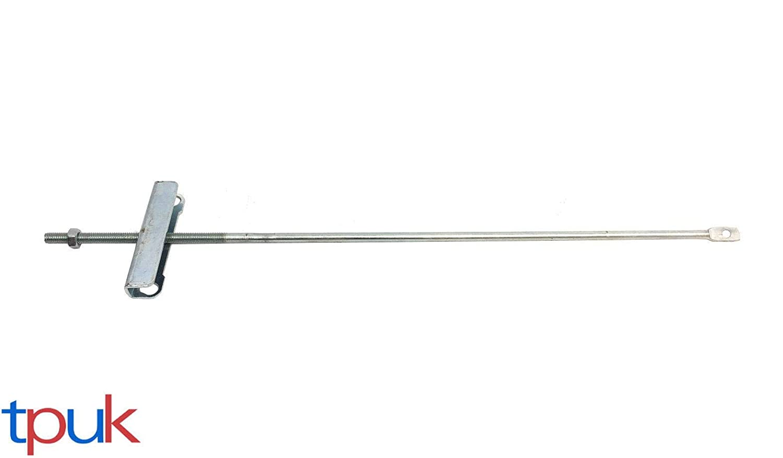 TRANSIT MK7 MIDDLE HANDBRAKE CABLE + BRACKET 2.2 2.4 2006-2014 SWB MODELS TPUK