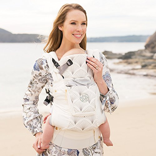 SIX-Position, 360° Ergonomic Baby & Child Carrier by LILLEbaby – The COMPLETE Embossed Luxe (Brilliance White) by Lillebaby