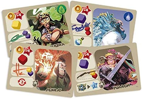 Second Gate Games Monster Lands - Juego de Mesa en Castellano: Amazon.es: Juguetes y juegos