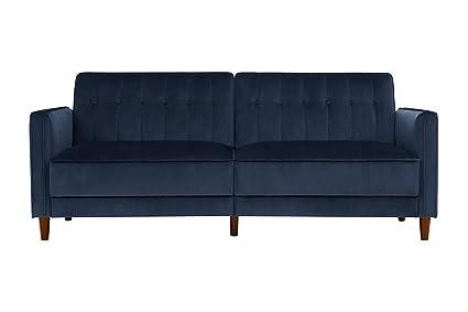 Amazon.com: Modern Convertible Sofa Sleeper - Contemporary Futon ...