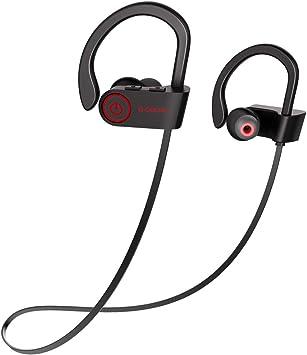 G-Color Auriculares Inalámbricos Deportivos, Bluetooth 4.1, Impermeable IPX7, Mayor Duración de la Batería, Cascos Inalámbricos para Deporte: Amazon.es: Electrónica
