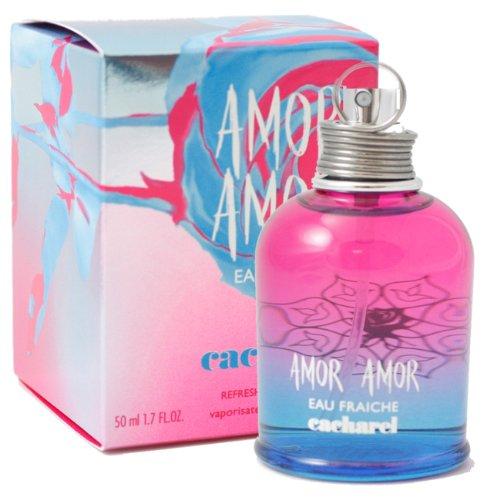 Amor Amor Eau Fraiche 1.7 oz Refreshing Fragrance Spray by Cacharel for Women