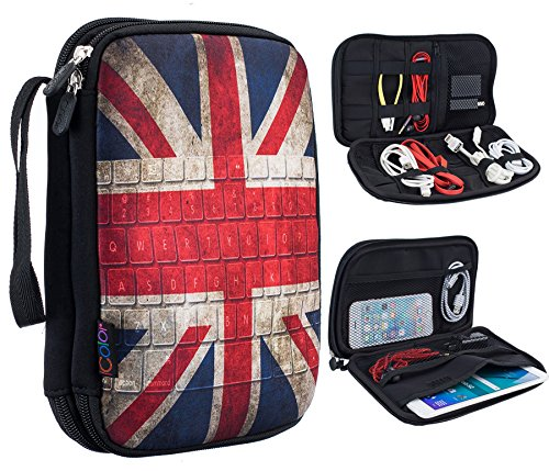 iColor UK Flag Double Layer Universal Electronic Accessories