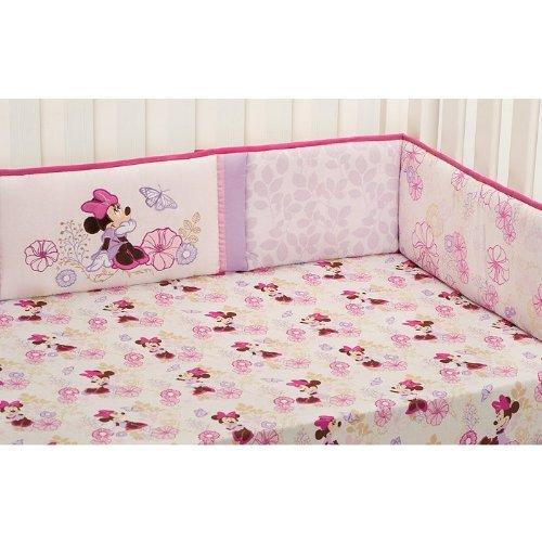 Kidsline Butterfly Dreams Minnie Mouse Crib Baby Bedding