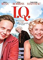 Filmcover I.Q. - Liebe ist relativ