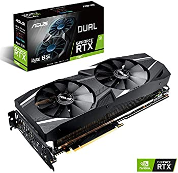 ASUS GeForce RTX 2080 Advanced Overclocked 8GB Dual-Fan Video Card