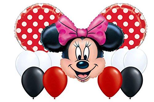Abc Family Original Christmas Movies - Disney Minnie Mouse Polka Dot Balloon Bouquet