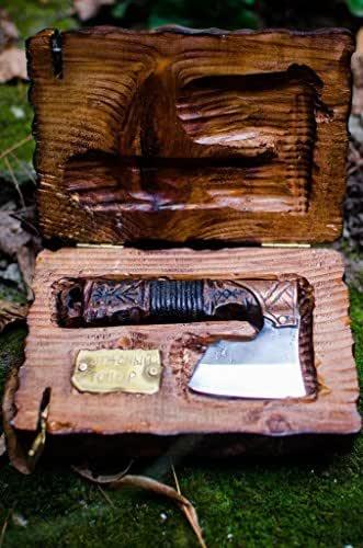 Amazon.com: Straight razor warrior axe in Viking Celtic