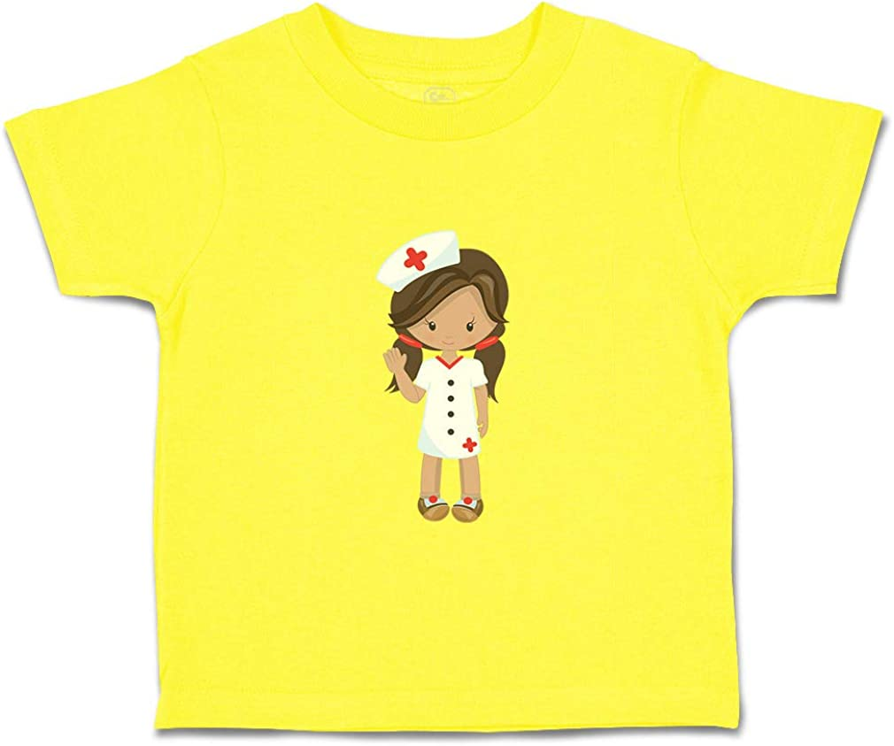 Custom Baby /& Toddler T-Shirt Nurse Girl S Cotton Boy Girl Clothes