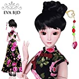 Chinese Cheongsam Donna 1/3 SD Doll 60cm 24'' Ball Jointed BJD Dolls Full Set Reborn Toy SD Surprise Doll