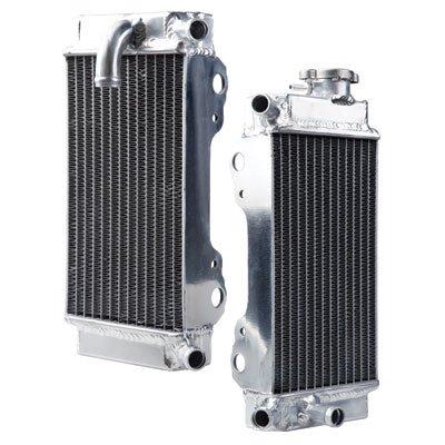 Tusk Aluminum Radiator Set - Fits: Honda CRF250R 2006-2009 by Tusk