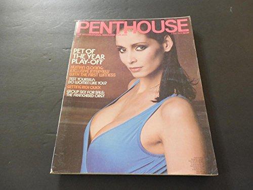 Penthouse Jun 1978 Pet Of The Year Play-Off, Human Cloning; Group Sex