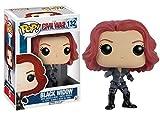 Funko POP Marvel: Captain America 3: Civil War Action Figure - Black Widow