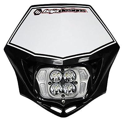 Baja Designs Squadron Sport Motorcycle LED Race Headlight Black Shell
