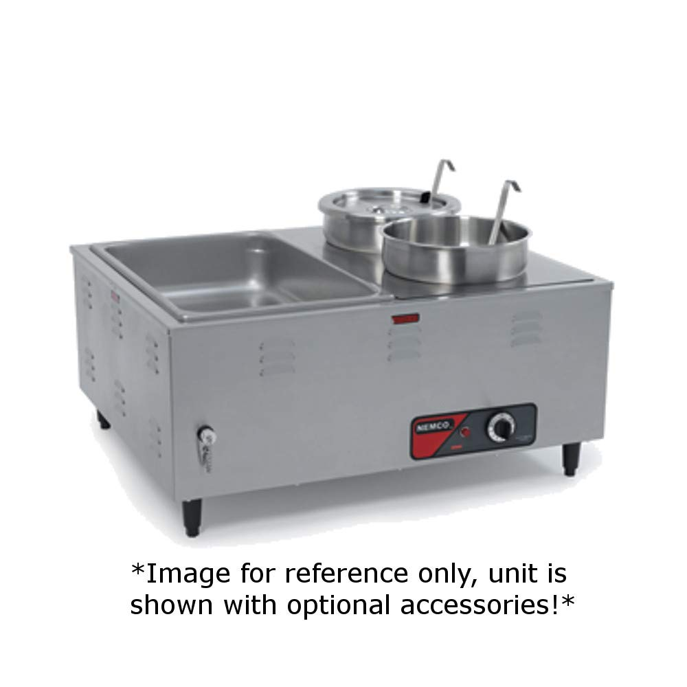 Nemco 6060A Mini Steam Table, 27-1/2'' x 24-1/2'' x 12-1/2''