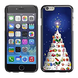 diy phone caseYOYO Slim PC / Aluminium Case Cover Armor Shell Portection //Christmas Holiday Decorated Tree 1151 //Apple Iphone 6 Plus 5.5diy phone case