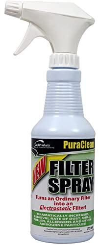 QwikProducts QT2700 Puraclean Filter Spray 16 oz Bottle