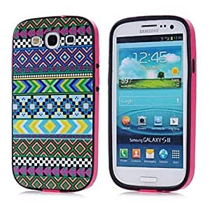 GJY Tribal green Pattern TPU + PC 2-in-1 Hard Case Cover for Samsung Galaxy S3 I9300