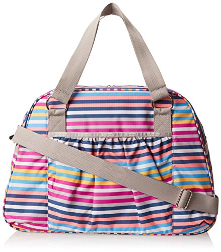 LeSportsac Luggage Abbey Carry-On Duffel Bag Snappy One Size ()