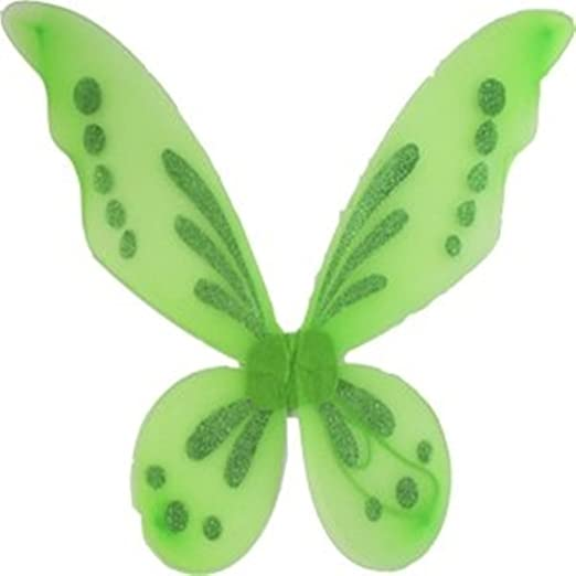 Neon Green Fairy Wings Lime Tinkerbell Princess Tutu Dress up Costume  sc 1 st  Amazon.com : neon fairy costume  - Germanpascual.Com