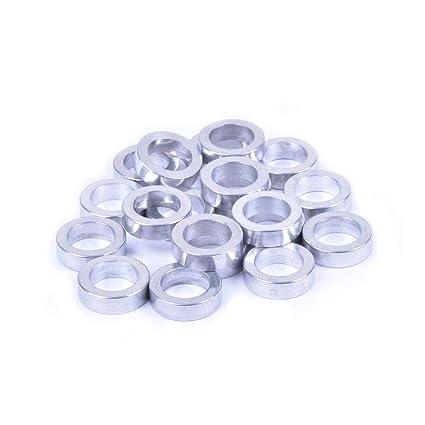 Wheels Manufacturing Fabricación de Ruedas Eje de 5 mm Espaciadores (Bolsa de 20)
