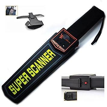 DOBO® Escáner Detector de Metales metaldetector Portátil Busca Metal Hierro Cobre Acero Seguridad Funda Trabajo carpeniere: Amazon.es: Jardín