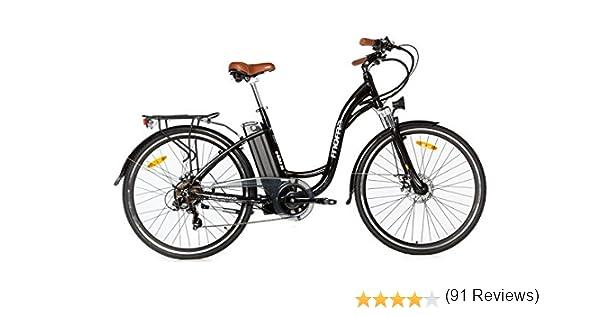 Moma Bikes Bicicleta Electrica, Urbana EBIKE-28