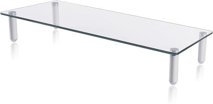 100cm Bildschirmerhöhung Monitorerhöhung Ständer schwarz Aufsatz Halterung Regal