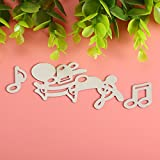 CoCocina Musical Notes Cutting Dies Stencil Scrapbook Card Album Paper Embossing Craft