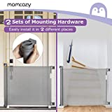 Retractable Baby Gate, Momcozy Mesh Safety Gate for