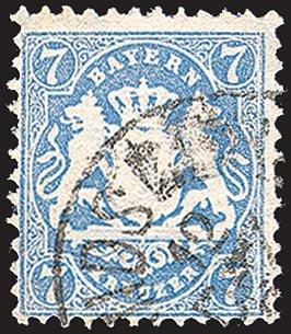 Goldhahn Bayern Nr. 34 gestempelt Briefmarken für Sammler Sammler Sammler 7d2a8f