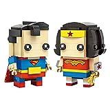 Grandline Wonder Woman and Superman Micro Blocks 268 PCS