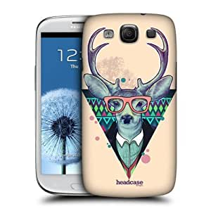 AIYAYA Samsung Case Designs Trendy Deer Fauna Hipsters Protective Snap-on Hard Back Case Cover for Samsung Galaxy S3 III I9300