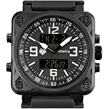 INFANTRY Mens Big Face Dual Display Tactical...