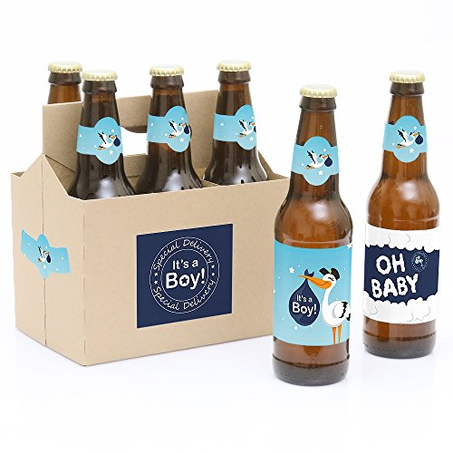 Big Dot of Happiness Boy Special Delivery - Blue It