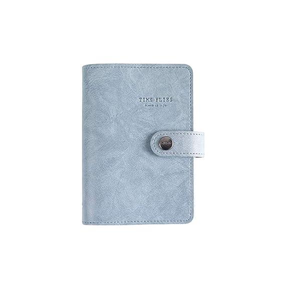 CXYBJB Cuaderno Retro Vintage Funda De Cuero Cuaderno De ...
