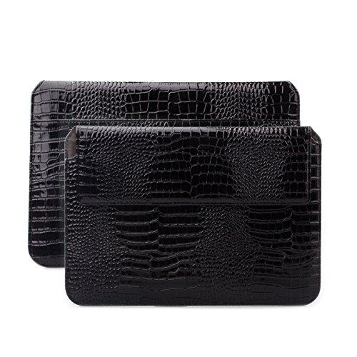 Caiman Crocodile Belt (Apple iPad Air 2 | iPad Pro 9.7 Sleeve Bag | Samsung Galaxy Tab S3 S2 9.7 Case | suitably for from 8.0 to 10.1 inches Tablets | Crocodile Caiman)
