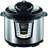 Instant Pot® IP-CSG60 5-in-1 Programmable Pressure Cooker, 6.33qt, Latest 3rd Generation Technology, Stainless Steel Cooking Pot and Exterior