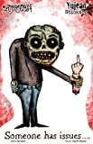 Agorables - Zombie Someone Has Issues - Sticker/Decal