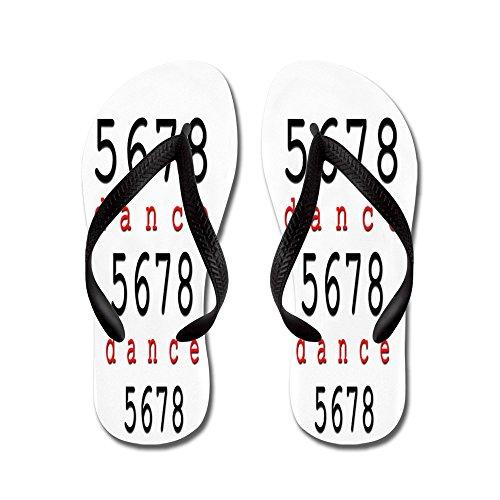 3758554a606d0 CafePress - 5678 Dance - Flip Flops