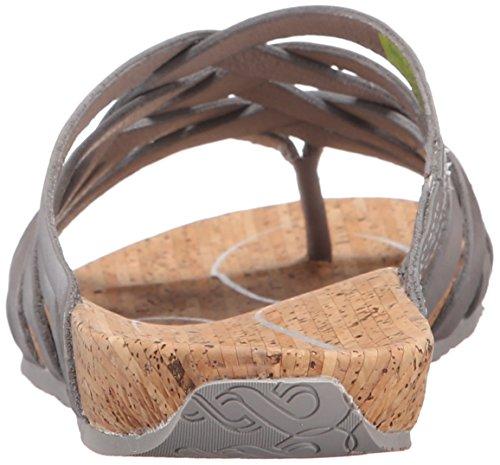 Ahnu Maia Thong Sandal Women's Silver aUSwaq