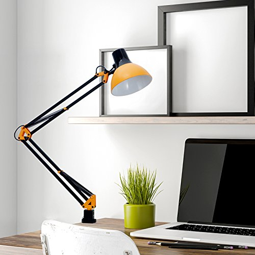 Tojane Swing Arm Desk Lamp With C Clamp Architect Reading