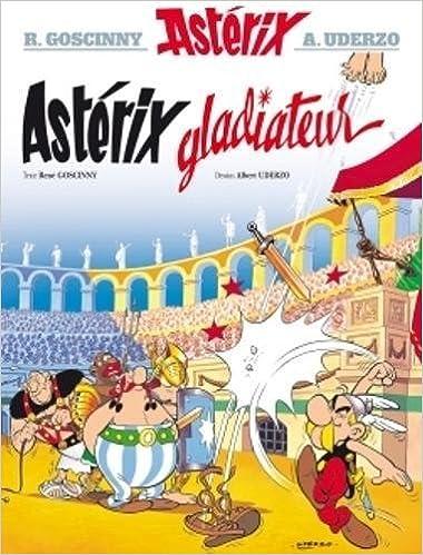 Asterix Asterix Gladiateur N 4 Amazon Fr Rene Goscinny