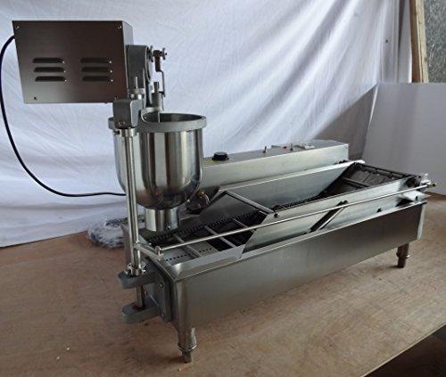 Kolice Electric Heating Automatic Doughnut Making Machine/Frying Doughnut Maker/Frying Donuts Maker/Donuts Making Machine/Frying Donut Making Machine/Frying Donut Maker for Street Food,Restaurant by Kolice (Image #9)