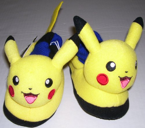Pokemon Slipper Shoes Toddler Size 5-6 For Age 3-4 (Fraggle Costume)
