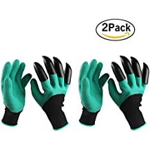Garden gloves with built in claws for Gardening gloves amazon