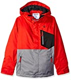 Volcom Big Boys' Elias Insulated Jacket, Fire Red, L