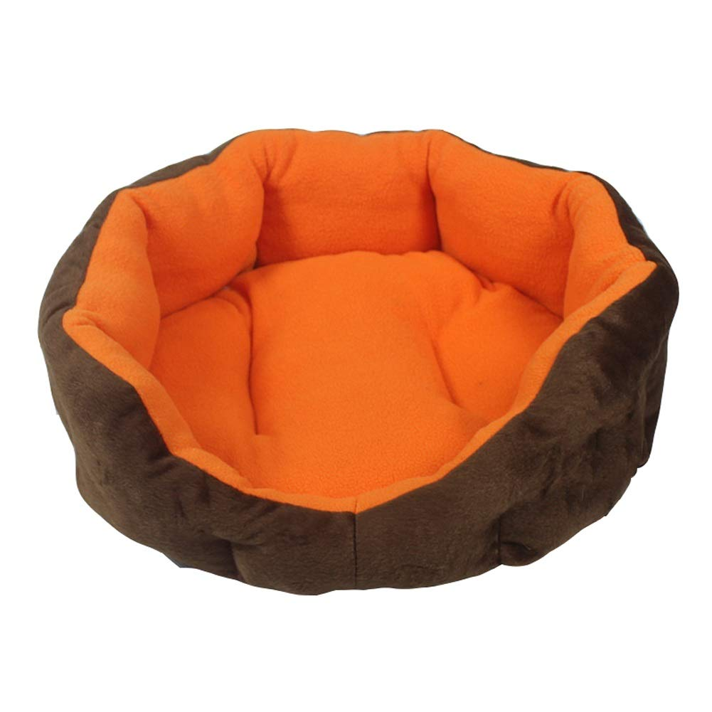 50cm CWWYJL Pet house Kennel Washable Kennel Cat Nest For Small Dog Large Dog Pet Small Dog Winter Keep Warm (Size   50cm)