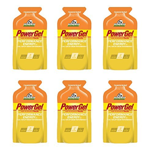 PowerBar PowerGel - Tangerine (6 x 1.44oz Packs)