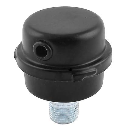 Forma redonda 20 mm Rosca Filtro de escape Silenciador para compresor de aire